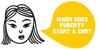 When Does Puberty Start & End?
